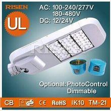CE IP67 IK10 TM21 Photocell Sensor Street Light Fixture, wall street bull 120W