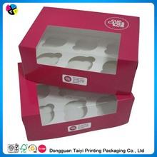 Cheap printing house cupcake boxes