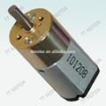 12v dc motorreductor 16mm 100 rpm