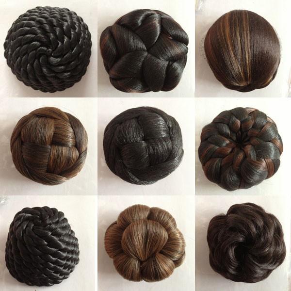 Black Hair Bun Pieces Black Bun Hair Pieces Hair Bun