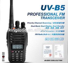 2015 Cheap Baofeng UV-B5 Dual Band radio FM transmitter Baofeng UV B5 Radio