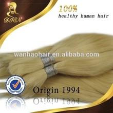 japanese kanekalon fiber synthetic golden yellow hair color bulk