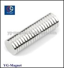 neodymium disc magnet D15x2mm D12x2mm D10x2mm