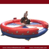 Gaungzhou hot sale inflatable bull riding machine