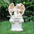 "7.8 "" pequeño Stting resina del ala del ángel de la figura ( NF87165 )"