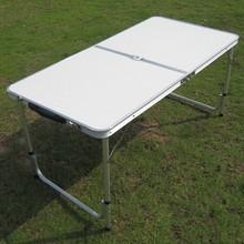 small folding aluminium camping table