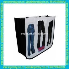 china supplier custom eco pp non woven foldable shop bag