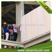 weatherproof lightweight fireproof wall panel