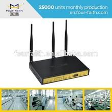F3B31 EVDO/EVDO dual sim card router for cable making equipment application