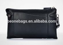 Custom Men Business Travel Ticket Holder Wallet Wrist Bag