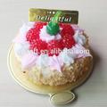 2015 caliente que vende Mini falso de la torta de cumpleaños para la decoración del hogar