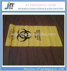 Popular PE biohazard eco bag,garbage bag,plastic bag