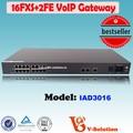 Prix bas pour 16*fxs internetfonctions télécoms. w340ui téléphone voip analogique