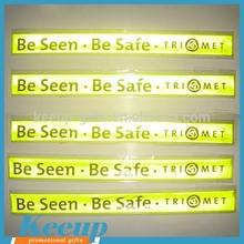 High Visibility Safety Flashing Reflective Slap Wrap Wrist Band