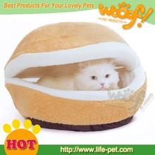 burger bun pet cat bed