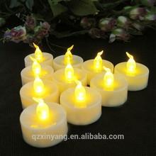 giallo fiamma led batteria elefante tè luce delle candele