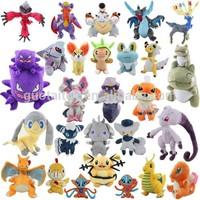 Wholesale character soft plush stuffed pokemon toys