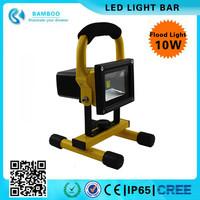 Camping 10w Rechargeable LED Flood Spot Work Light Portable Caravan Hiking Lamp