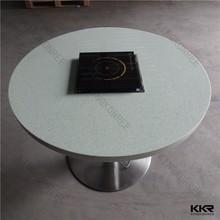 Heat Resistant Hot Pot Tables / Restaurant Hot Pot Tables For Hot Pot Restaurants
