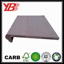 oak or maple veneer chipboard indoor stair tread
