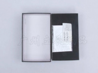 low price black pearl paper scarf packing box glazed