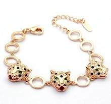 Magnetic design jewellery tiger head bracelet for wholesale