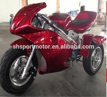 49cc pocket bike mini moto mini motorcyle pocket bike pull starter with CE