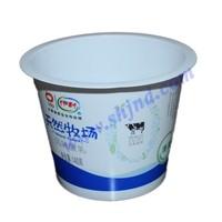 Plastic Greek yogurt cup by food grade PP with FSSC 22000 certificate