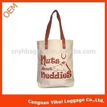2014 hot sale eco friendly organic cotton shopping bag promotion tote bag big handbag