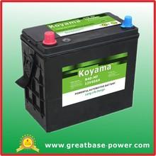 Automotive Starting Battery N40MF-12V40Ah maintenance free battery