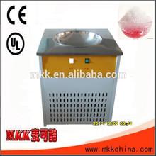 MKK thailand 2 pan durable flat pan fry ice cream machine pan fry ice cream maker
