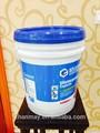 pp دلو من البلاستيك المطبوعة 18l لطلاء، اللثي الطلاء، أو غيرها من المنتجات الكيماوية
