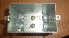 Perculiar Galvanized Steel Electrical Junction Box.