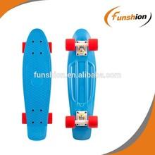 mini cruiser plastic fish skateboard complete