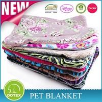 Luxury sherpa pet blankets wholesale coral fleece pet blanket