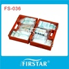 Basic olympia first aid kit team premium with lock abs box
