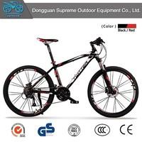 2015 new product 27 speed aluminum alloy mountain bike light weight tandem bike