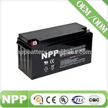 12V 140AH back up battery off grid solar lead acid sealed battery for computer