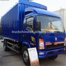 SINOTRUK HOWO 4X2 van cargo truck ZZ5167CPYG4715C1