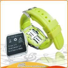 Popular unique sport color watches silicon
