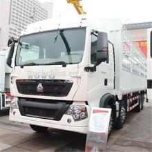 Sinotruck Howo 12 Wheeler Heavy Duty cargo truck