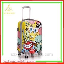 new customized Fashion custom cartoon characters luggage