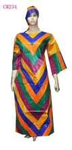 bazin rich dress set