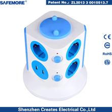 CE approval European plug adaptor electrical switch socket Germany