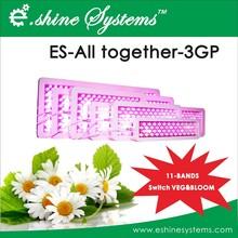 Improved E.shine 3G 11 band diamond series panel led grow lights 50w 100w 200w 300w 400w 600w 800w