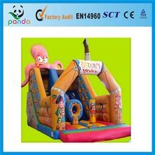 Pirate Octopus Inflatable Indoor Slide