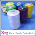 20GP made in china Count NE 20S/1 20/2 100% virgin TFO polyester sewing thread