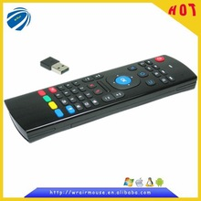 Consumer electroincs remote controller air mouse keyboard for smart TV made in China supplier