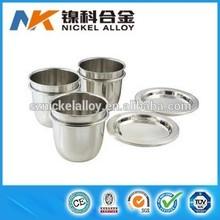 High purity 99.95% analytical platinum crucible price