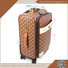 China wholesale fancy design wheeled custom travel bag,mini cardboard suitcases